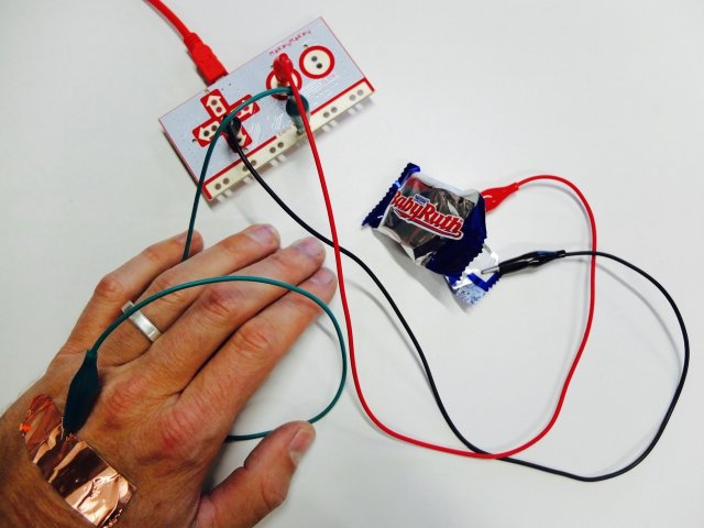 Makey Candy parts